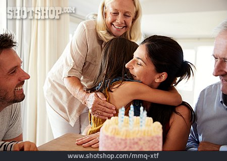 Mother, Embracing, Birthday