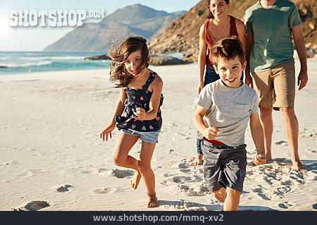 Happy, Siblings, Summer Vacation