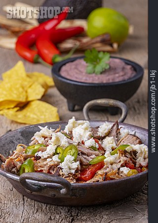 Meal, Mexican Cuisine, Pulled Pork
