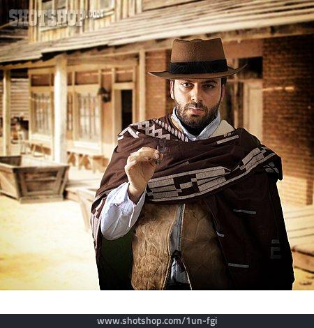 Smoking, Wild West, Cowboy