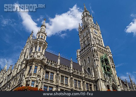 Historic Building, New Town Hall, Neogothic