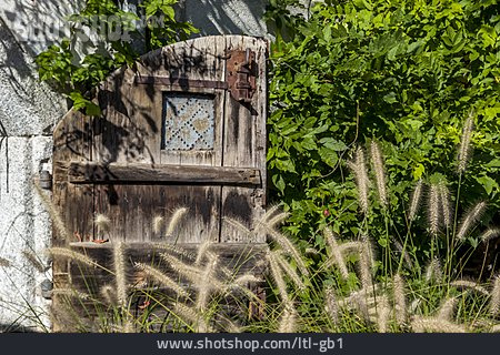 Wooden Door, Garden Gate
