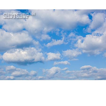 Sky, Cloudscape, Cumulus