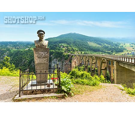 Bridge, Memorial, Montenegro, Durdevica Tara Bridge
