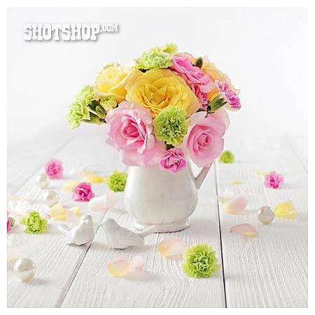 Decoration, Bouquet, Romantic