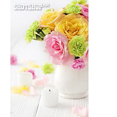 Bouquet, Candle
