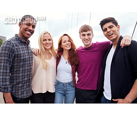 Friends, Clique, Group Picture