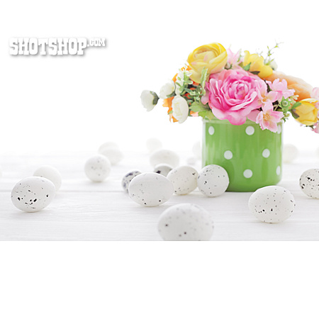 Decoration, Bouquet, Easter Time