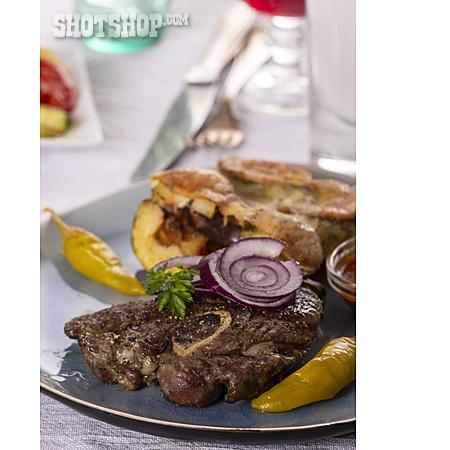 Meat Dish, Lamb