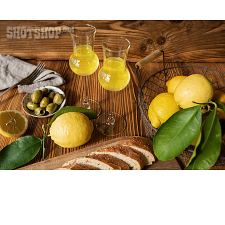 Liqueur, Lemon, Limoncello