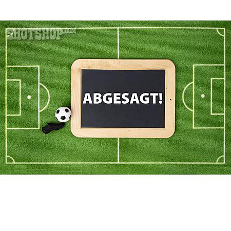 Absage Fussball