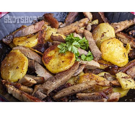 Homemade, Meal, Tiroler Gröstl