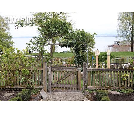 Garden, Garden Fence, Country Style