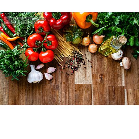Healthy Diet, Mediterran, Ingredients
