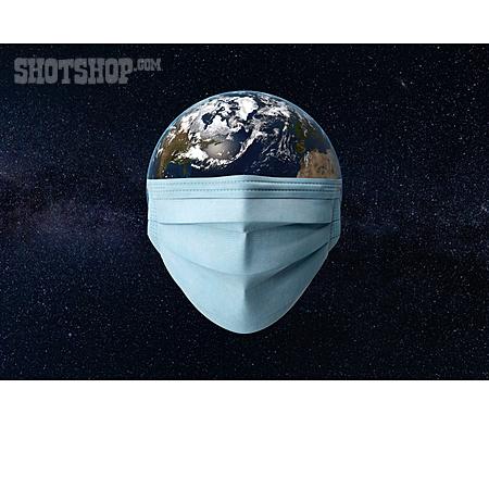 Global, Planet, Facial Mask