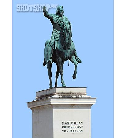 Munich, Equestrian Sculpture