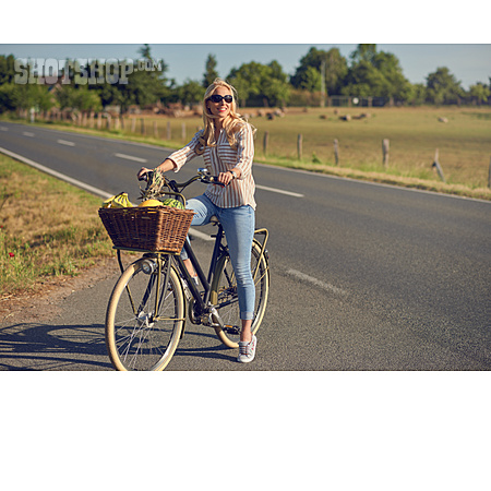 Shopping, Groceries, Bicycle
