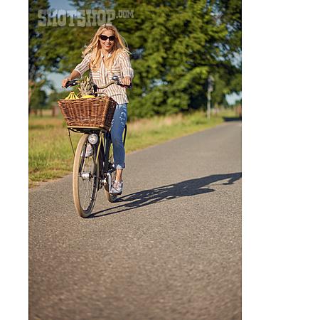 Shopping, Cycling, Summer Vacation