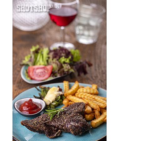 Steak, Dinner