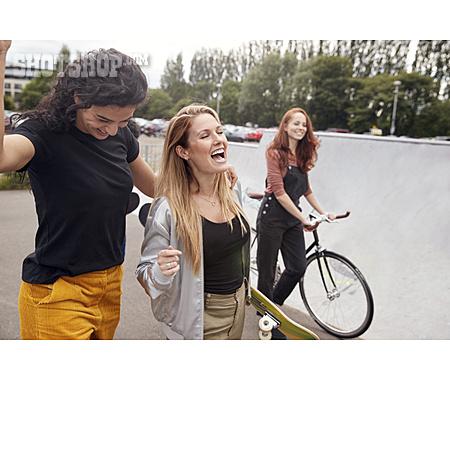 Fun, Urban, Friends, Hipster