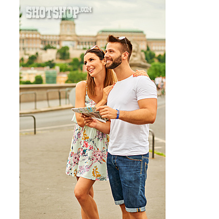 Couple, City Trip, Sightseeing