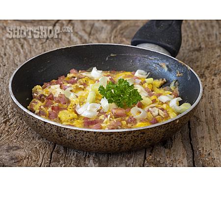 Breakfast, Scrambled Eggs, Egg Meal