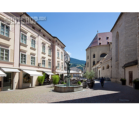 Old Town, Fountain, Brixen