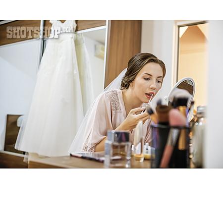 Wedding, Bride, Makeup