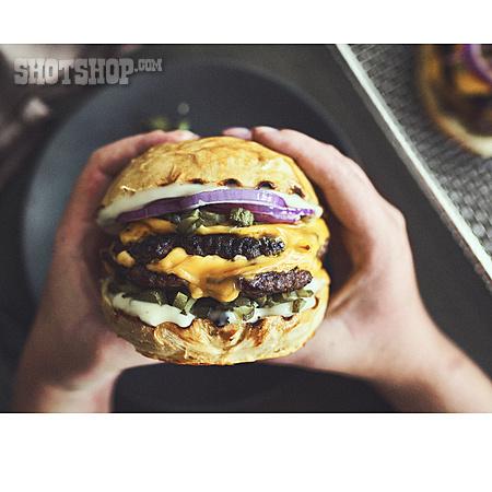Cheeseburger, Burger, Double Cheeseburger
