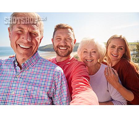 Happy, Family, Portrait, Selfie