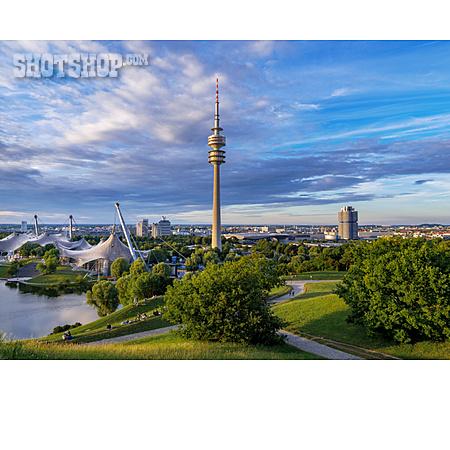 Munich, Olympiapark, Olympic Tower