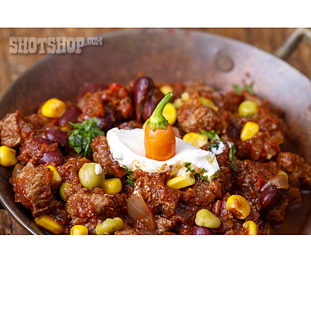 Chili Con Carne, Bean Stew