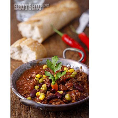 Stew, Chili Con Carne, Bean Stew