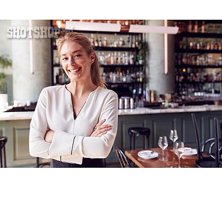 Restaurant, Portrait, Owner