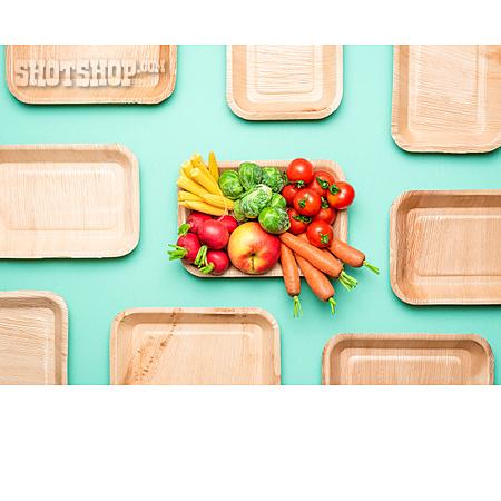 Fruit, Vegetable, Package, Sustainability