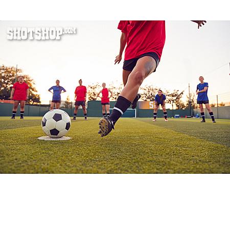 Penalty, Soccer Player, Soccer Training