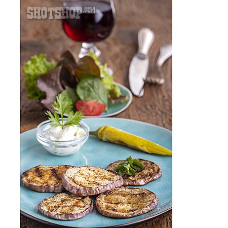 Eggplant, Antipasto, Grilled Vegetables