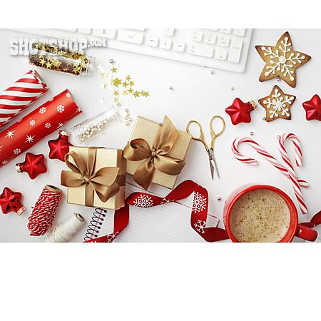 Desk, Christmas Present, Packing