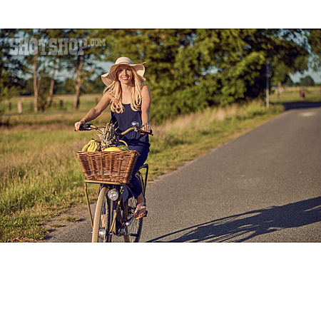 Summer, On The Move, Cyclist