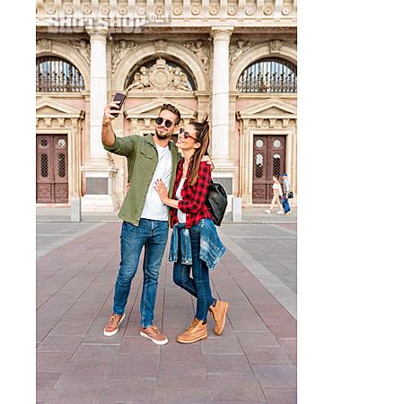 Couple, Smart Phone, Selfie