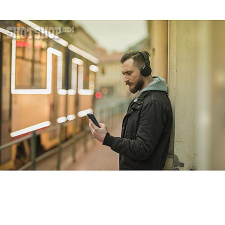 Mobile Communication, Smart Phone, Listening Music