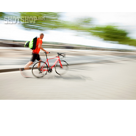 Movement, Bicycle, Running