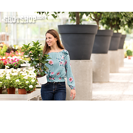 Shopping, Potted Plant, Gardening