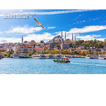 Harbour, Istanbul, Eminönü