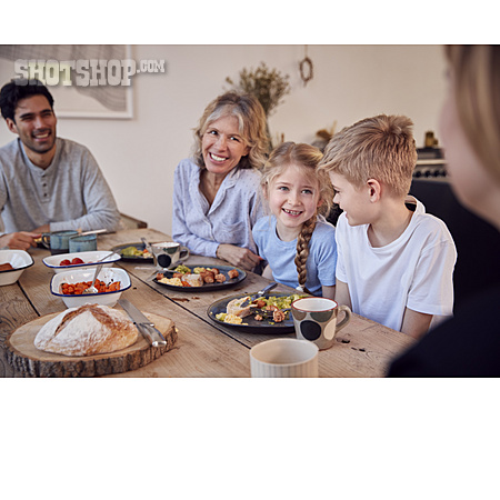 Home, Meal, Family, Together, Brunch