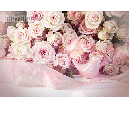 Wedding, Romantic, Rose Bouquet
