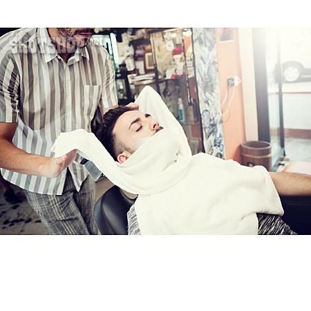 Customer, Shaving, Barber