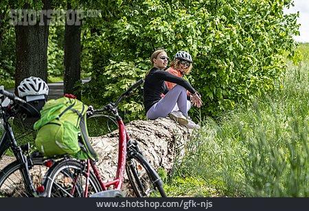 Resting, Break, Cycling