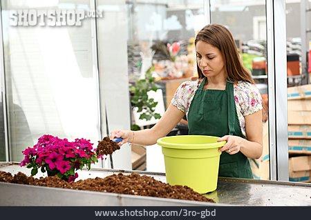 Flower Pot, Garden Center, Planting, Soil