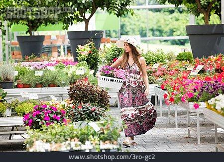 Shopping, Garden Center, Choosing, Gardening